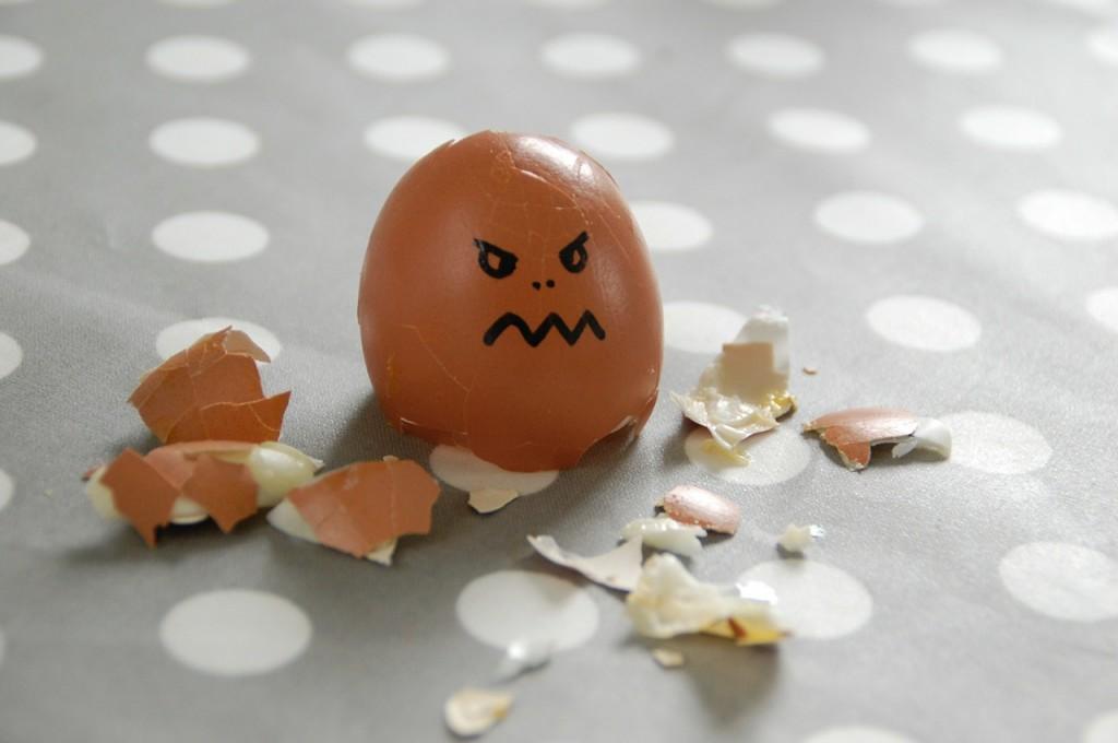 Customer Egg is Angry